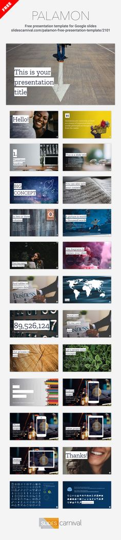 Engage your audience while presenting by using this photographic free theme. To get the most out of this template keep your slides with little text and it will help you tell an inspiring story.