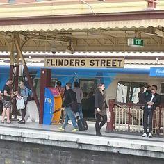 On the Platform. Melbourne