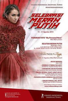 Grand Indonesia - Selebrasi Merah Putih - Event Program 2014