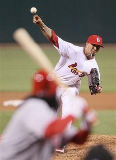 Starting pitcher - Lohse  4-17-12