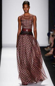 5 Looks From Carolina Herrera Spring RTW 2014 Fashion Show in New York Look Fashion, High Fashion, Fashion Show, Fashion Design, Couture Fashion, Runway Fashion, Womens Fashion, Milan Fashion, Carolina Herrera