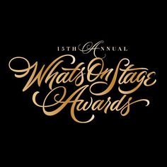 Whats On Stage Awards by Neil Secretario