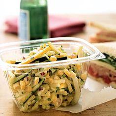 22 Healthy Lunch Ideas | Garden Salad with Citrus Vinaigrette | CookingLight.com