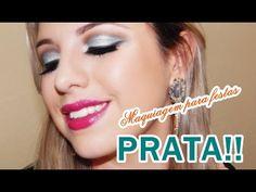 Assista esta dica sobre Maquiagem para festas -  PRATA!! e muitas outras dicas de maquiagem no nosso vlog Dicas de Maquiagem.