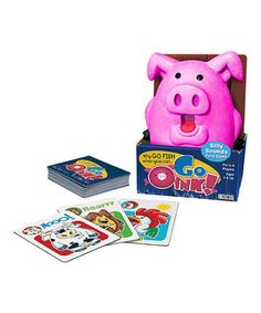 Love this Go Oink! Card Game by Patch Products on #zulily! #zulilyfinds
