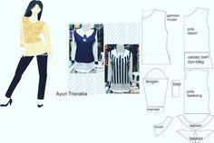 """#fashiondesigners #casual #tshirt #readytowear #localdesigners #tanahabang #design #diy #pattern #patternmaker"""
