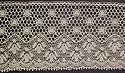 """10-Angel Lace - L45, 1.5"""" Edge white or ivory"""