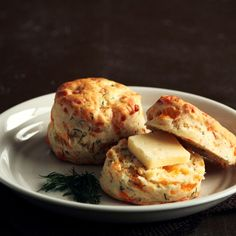 Cheddar Dill Biscuits...from heaven.