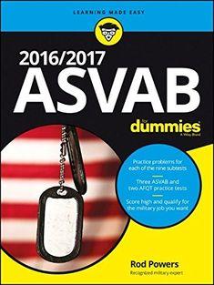 2016 2017 ASVAB For Dummies