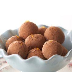 Swiss Orange Chocolate Truffles