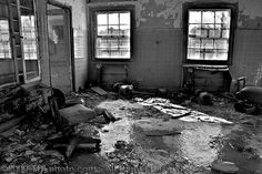 """""""Abandoned Children's Center (Asylum) / Hospital that opened its doors in 1925. During the early years this facility was known as a state-of-the-art treatment facility. With a good reputation this hospital set the standard for other states to follow.  With declining conditions decades later many patients filed lawsuits against the hospital for reasons of abuse, neglect, poor living conditions... even medical testing.  In 1991...facility...closed"""" ~ Forest Haven ~ TDLphoto @ flickr"""