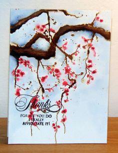 40-451 Branch of grace et 30-338 Special thoughts de Penny Black par Micheline 'Mimi' Jourdain