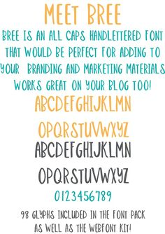 Check out BREE - Handlettered Font by OnTheSpotStudio on Creative Market