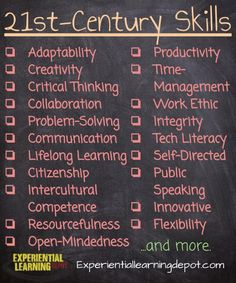 How to Add Skills to Your Curriculum - Experiential Learning Depot 21st Century Classroom, 21st Century Learning, 21st Century Skills, Instructional Strategies, Teaching Strategies, Teaching Tools, Creative Teaching, Teaching Art, Teaching Ideas