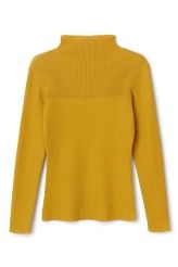 <p>The Theia l/s Top is knitted in a lightweight cotton-blend with a directional ribfromneckto chest.Ithas long, fitted sleeves and a turtleneck collar.</p><p>- Size Small measures 74 cm in chest circumference and 67 cm in length. The sleeve length is 60 cm.</p>