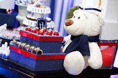 Decoração Infantil Ursinho Marinheiro