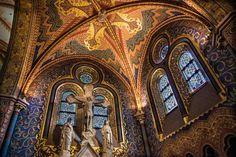 The Fantastic Decoration of the Matthias Church, Budapest via TravelPast50