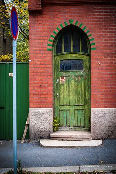Oslo, Norway. Thresholds mark the entrance into something new or different and hold possibility to Norskies, so they personalize, embellish, and treasure them!
