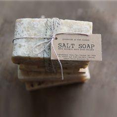 SALT SOAP bar Made In The OZARKS por leboxboutique en Etsy, $7.50