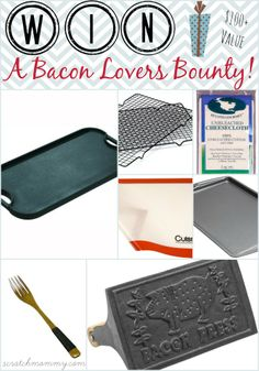 WIN $100+ Bacon Lovers Bounty! #ScratchMommy #BACON #giveaway