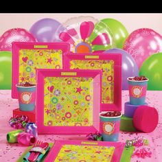 American Girl party supplies @ birthday express