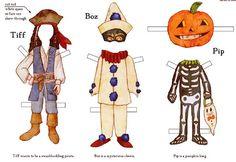 recortables halloween