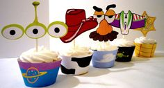 Toy Story Cupcake Wrappers and Toppers by OpalandMae