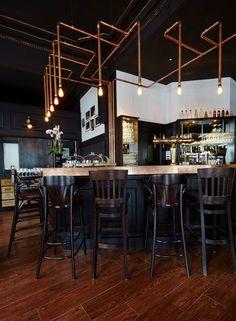 Les Innocents Wine Bar & Restaurant by les agenceurs, Strasbourg – France » Retail Design Blog