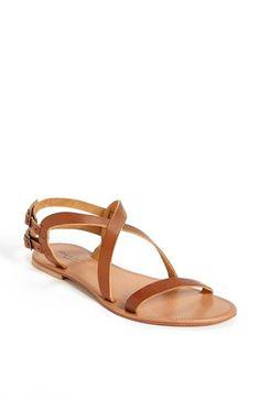 Joie a la Plage Socoa Leather Sandal Cognac 36 EU Leather Sandals Flat, Bridesmaid Shoes, Ankle Straps, Sock Shoes, Summer Shoes, Shoes Sandals, Nordstrom, Etsy, Shoe Bag