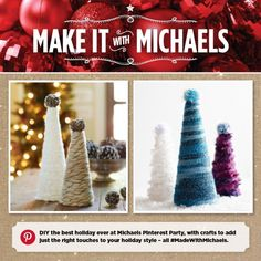 MadewithMichaels Holiday  Pinterest Party November 15 1 - 4 pm