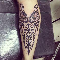 #tiki #tatau #tattoo #tatuagem #tattoomaori #tongatattoo #tattoopolynesian…