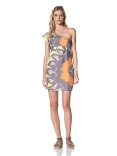 66% OFF Susana Monaco Women\'s Akiko Dress (Gull)
