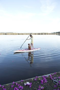 stand-up paddle boarding | photo by Chia Chong for Camille Styles
