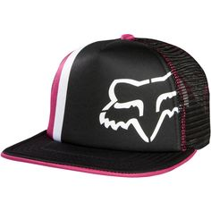 75ac8db68609c FOX RACING WOMENS GIRLS SNAPBACK SNAP BACK PRIME LAP TRUCKER HAT CAP LID  FEMALE