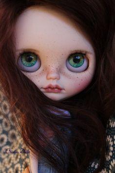 Vlastní blythe panenku od Oliviadolls