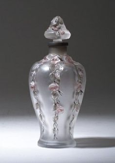 A particularly pretty perfume bottle.