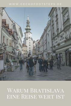 Die slowakische Hauptstadt findet meiner Meinung nach viel zu wenig Beachtung. In meinem Artikel verrate ich Dir, warum Bratislava eine Reise wert ist. Reisen In Europa, World Pictures, Bucharest, Best Cities, Eastern Europe, Wonderful Places, Vienna, Travel Tips, Travel Destinations