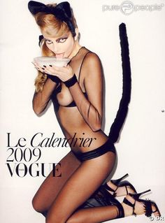 Calendrier Vogue 2009
