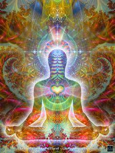 HEARTSOUL corps cosmique tapisserie tenture par Pumayana sur Etsy