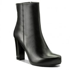 Botine GINO ROSSI - Serena DBH200-T14-E100-9900-F 99 Booty, Ankle, Shoes, Fashion, Moda, Swag, Zapatos, Wall Plug, Shoes Outlet