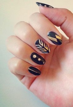The latest trend in nails is chic and surprisingly easy