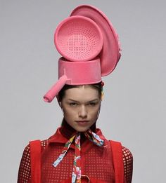 Perfect hat for the Lady Pothead with the serious munchies!
