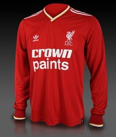 963a99e7a This re-release by adidas of the Home Kit with Crown Paints celebrates a  classic iconic Liverpool football shirt. The Liverpool Crown Paints top is  a ...