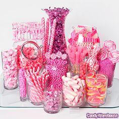 candy buffet purple and pink - Google Search