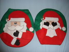 Christmas Bells, White Christmas, Christmas Stockings, Christmas Crafts, Christmas Decorations, Christmas Ornaments, Holiday Decor, Christmas Bathroom Sets, Felt Crafts