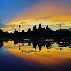 Good morning from Angkor Wat - #siemreap #Cambodia  Tag #legendtravelgroup  #angkor #wat #angkorwat #khmer #unesco #southeastasia #asia #asean #angkorthom #indochina #indochinalegend #travelasia #travelagent #travelcambodia #visitcambodia #visitangkor #cambodiatravel #cambodiatours #bestoftheday #photooftheday #morning #temples #buddhism #hindu #khmerkingdom by legendtravelgroup