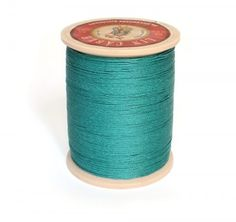 Linen Thread: Peacock $36.00 This is a great waxed linen thread for leather and leatherworking but also bead making, costume jewelry and even bookbinding. Check @ www.fineleatherworking.com #fineleatherworking