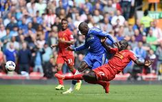 Demba Ba Goals Liverpool Vs Chelsea