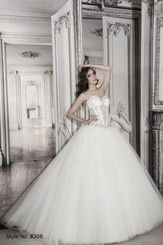 #pnina_tornai #bridal dress style no. 4308