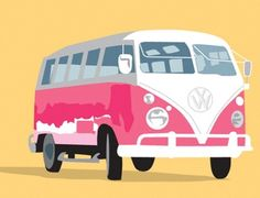 VW Combi by Victoria. http://creativepool.com/victoriaellis?project_id=228 #vw #illustration #combi #creativepool